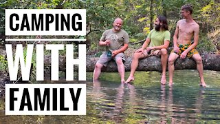 Family Camping Trip | Clean Up on the Mazarn Creek