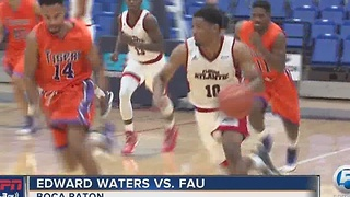 FAU routs Edward Waters, 98-64 - Video