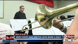 Green Country band director leaving behind a legacy