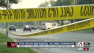 KCPD creates new position to analyze crime data - Video