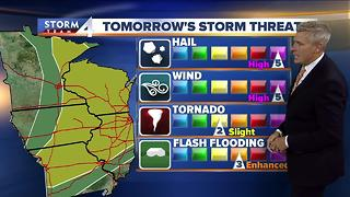 Brian Gotter's Tuesday 10pm Storm Team 4cast