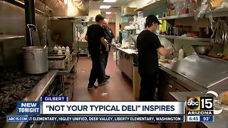 Gilbert deli becomes inspiration for hiring employees with developmental disabilities - Video
