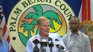 Senator Bill Nelson demanding federal emergency funds - Video