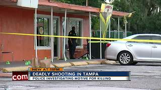 Police investigating fatal shooting in Tampa - Video