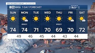 FORECAST: Gorgeous, sunny weekend for the Valley