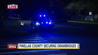 Pinellas County securing drawbridges - Video