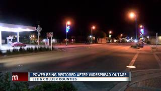 45,000 LCEC customers power restored after outage - Video