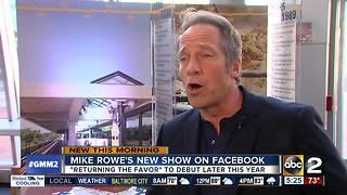 Mike Rowe's new Facebook show