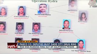 Dade City drug ring busted; suspect ran drug dealing operation from prison - Video