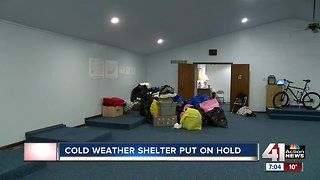 Building for JoCo cold-weather shelter remains vacant