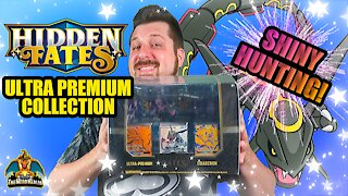 Hidden Fates Ultra Premium Collection | Shiny Hunting | Pokemon Opening