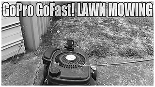 Why NOT add Hemi V8 sound effects to a lawnmower!?  - Video