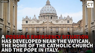 Reports Of Explosion At Vatican, Black Smoke Covering City - Video