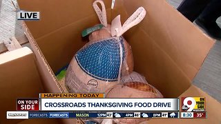 Crossroads Church holds its Thanksgiving Food Drive