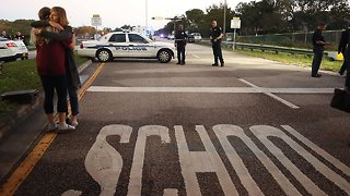 Officials Release Video Of Deputy Outside Fla. School During Shooting - Video