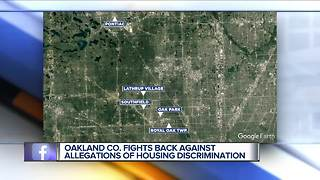 Oakland County accused of 'discriminatory' housing policy - Video