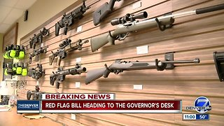 Colorado House passes 'red flag' extreme risk protection order measure to Gov. Polis' desk