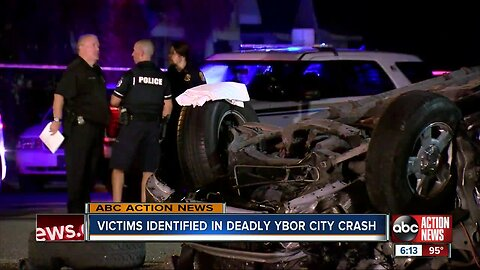 2 dead in rollover crash involving alcohol in Ybor City, TPD says