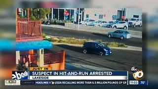 Suspect in hit-and-run arrested