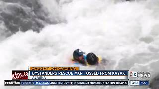 Amazing water rescue in Alaska - Video