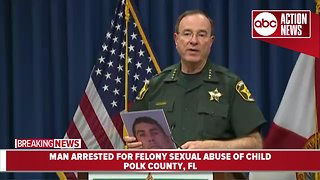 Man arrested in Polk County for felony sexual abuse of a child