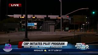 CBP to open more lanes at Mariposa border crossing to fight traffic - Video