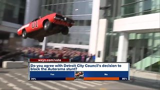 Detroit City Council rejects permit to perform Smokey and the Bandit car jump before Autorama