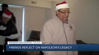 Friends reflect on Napoleon's legacy