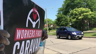 Workers First Caravan for Racial and Economic Justice pushes for change