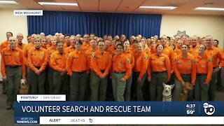 Volunteer search and rescue team