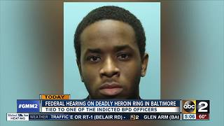 Trial starts for 5 accused drug dealers shielded by a Baltimore police officer - Video