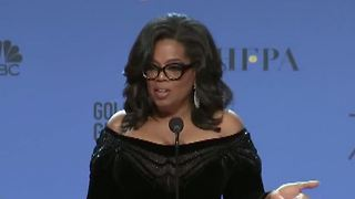 Oprah speaks out about running for president - Video