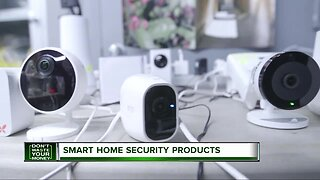 Smart home security products