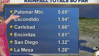 Dec 16th Rainfall Totals - Video