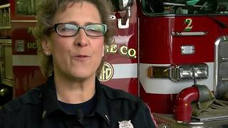 Longest-serving female firefighter retires from Milwaukee Fire Department - Video