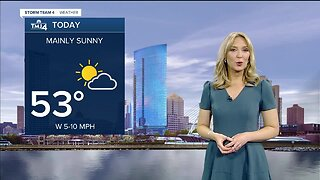 Milwaukee weather Sunday: Partly cloudy with highs in lower 50s
