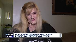 Woman stabs crook during home invasion