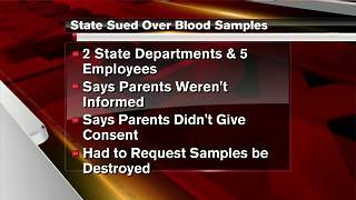 Lawsuit claims Michigan stole blood of more than 5 million newborns for research