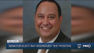Senator-Elect Rodrigues positive for COVID