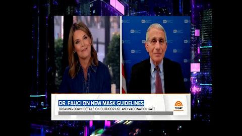 Dr. Fauci Now Says Children Are Big Risk For COVID Spread, Joy Reid Brags About Jogging w/ 2 Masks