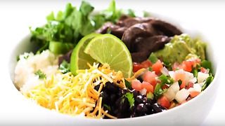 Mouthwatering burrito bowl recipe