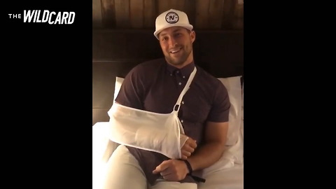 Watch: Tim Tebow Sends Personal Update To Fans After Surgery — 'Back To Work'