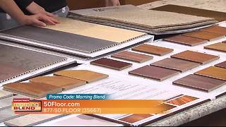 The Morning Blend talks about the major savings 50 Floor has for the month of October - Video