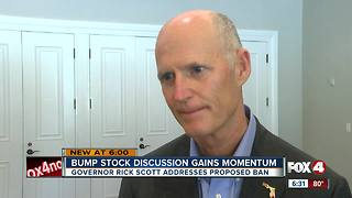 Gov. Scott on Massachusetts bump stock ban - Video