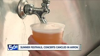 Akron could lose up to $750,000 by canceling large summer concerts, festivals & other events