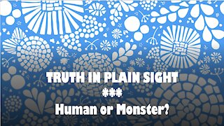 Truth in Plain Sight: Humans or Monsters?