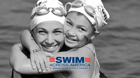 Champion Swimmer Shares Her Son's Story Of Hope And Survival As She Swims Across America!