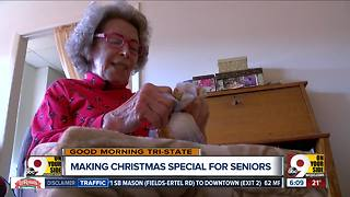 Community donates Christmas gifts to senior home residents - Video