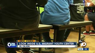 Tour: Migrant children separated from parents, held at East San Diego County shelter