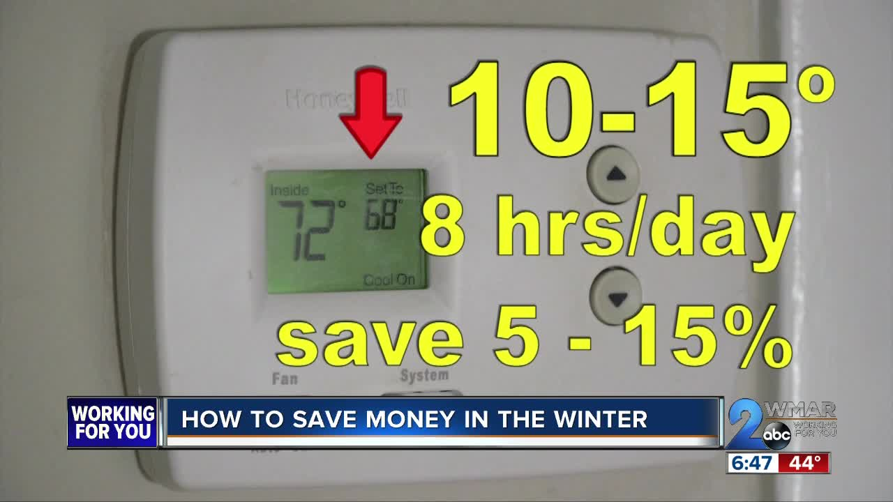 Tips for saving money in the winter